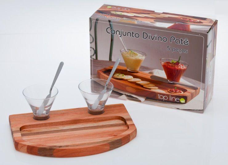 Kit Divina Patê 5 Peças - Top Line