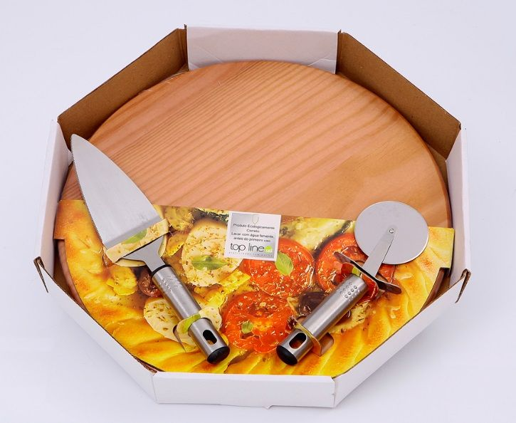Conjunto Pizza da Casa 3 Peças 531 Top Line
