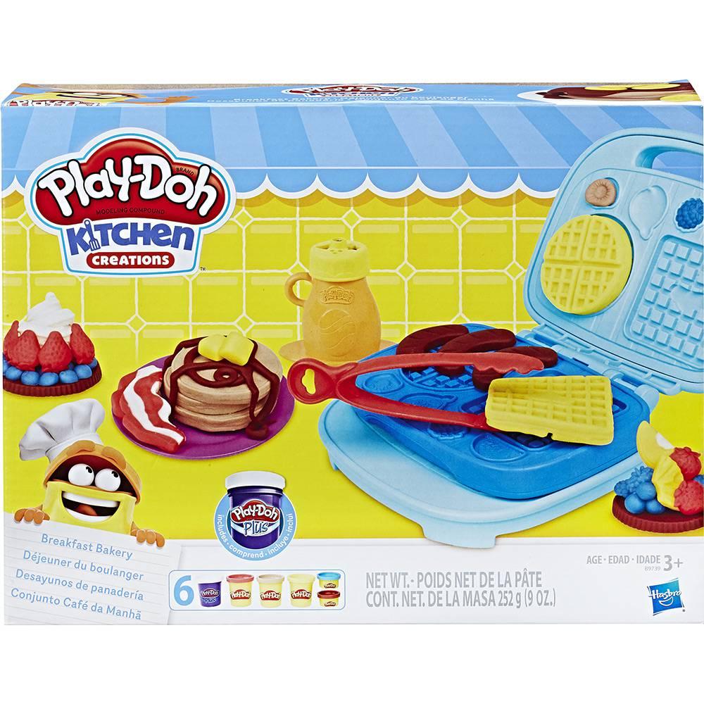 Conjunto Play-Doh Café da Manhã Divertido Hasbro