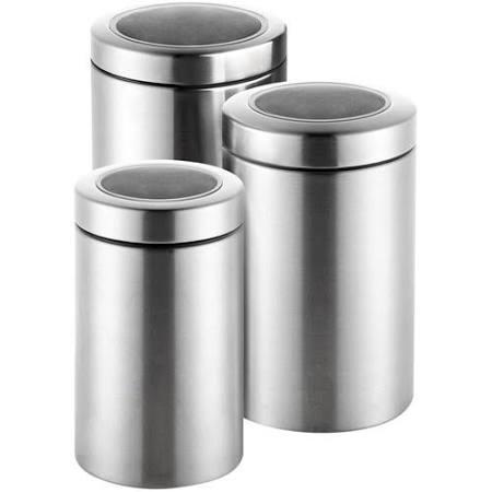 Conjunto Pote Inox 3 Peças com Tampa - Hércules