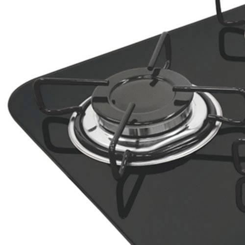 Cooktop a Gás Glass Brasil 45cm Tramontina 3 bocas