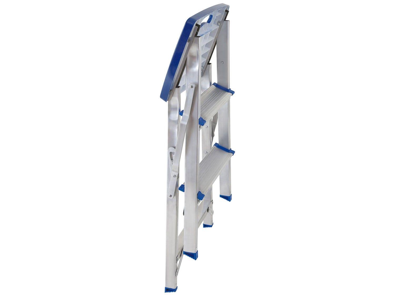 Escada Alumínio Banqueta Mor