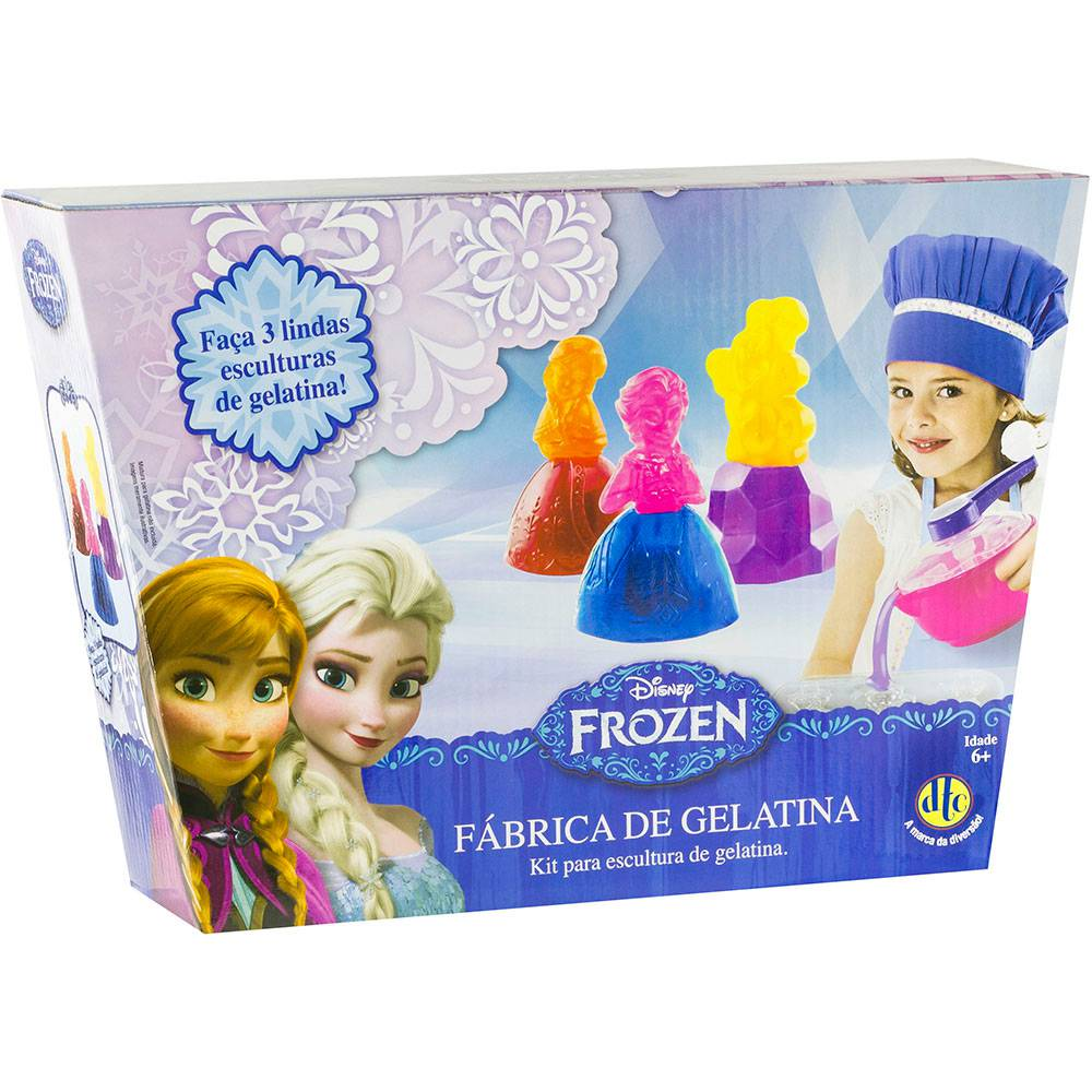 Fábrica de Gelatina DTC Disney Frozen
