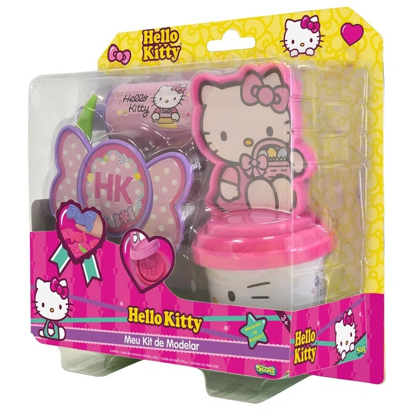 HELLO KITTY KIT DE MODELAR FOCOS