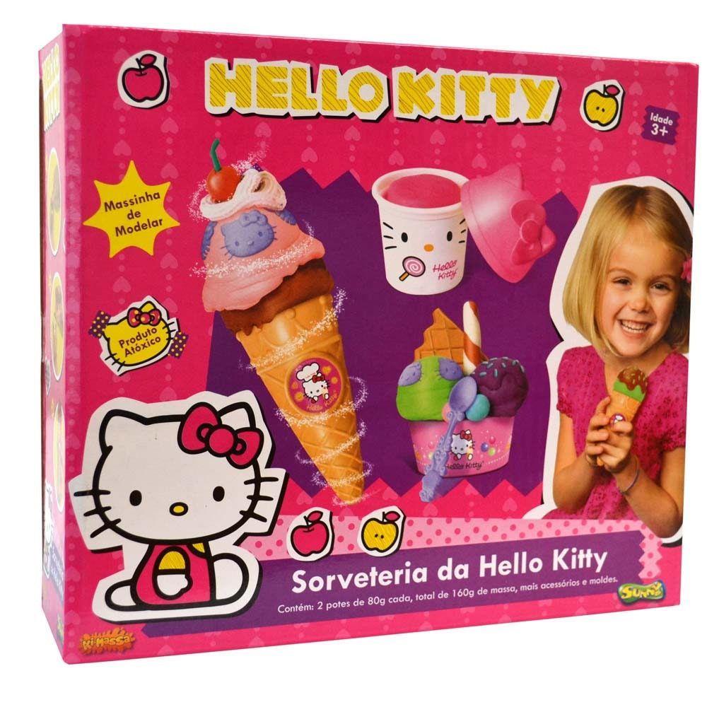 HELLO KITTY SORVETINHO FOCOS