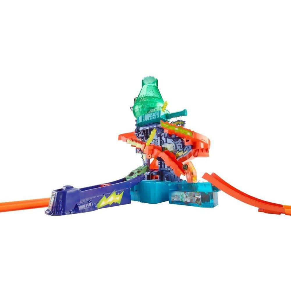 Hot Wheels Color Change Estação Cientifica Mattel