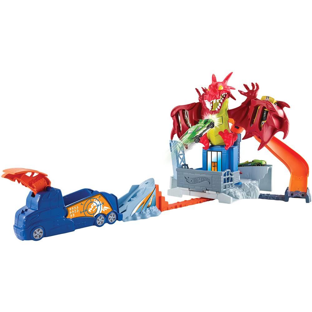 Hot Wheels - Conjunto Fúria do Dragão - Mattel