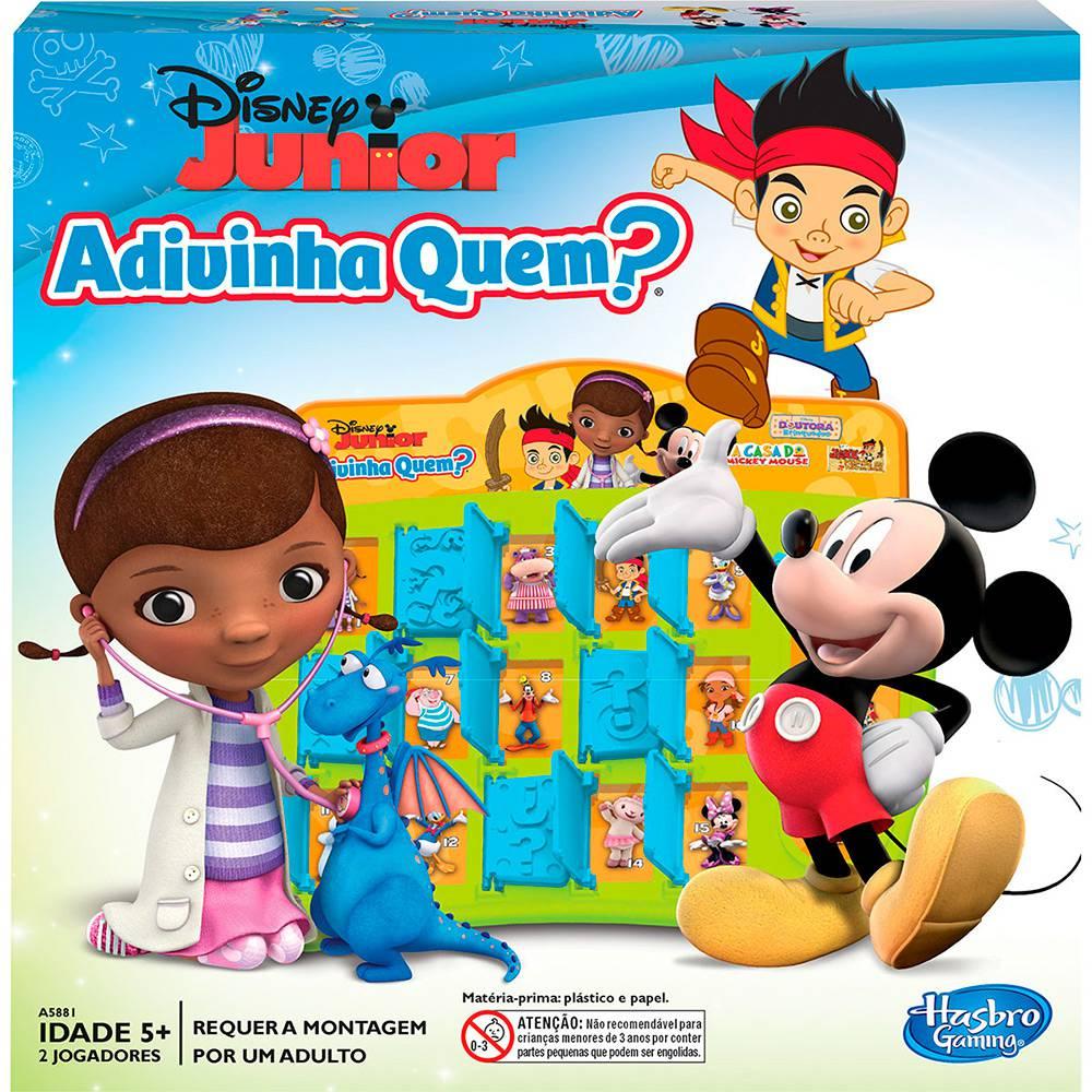 Jogo Adivinha Quem Disney Júnior Hasbro