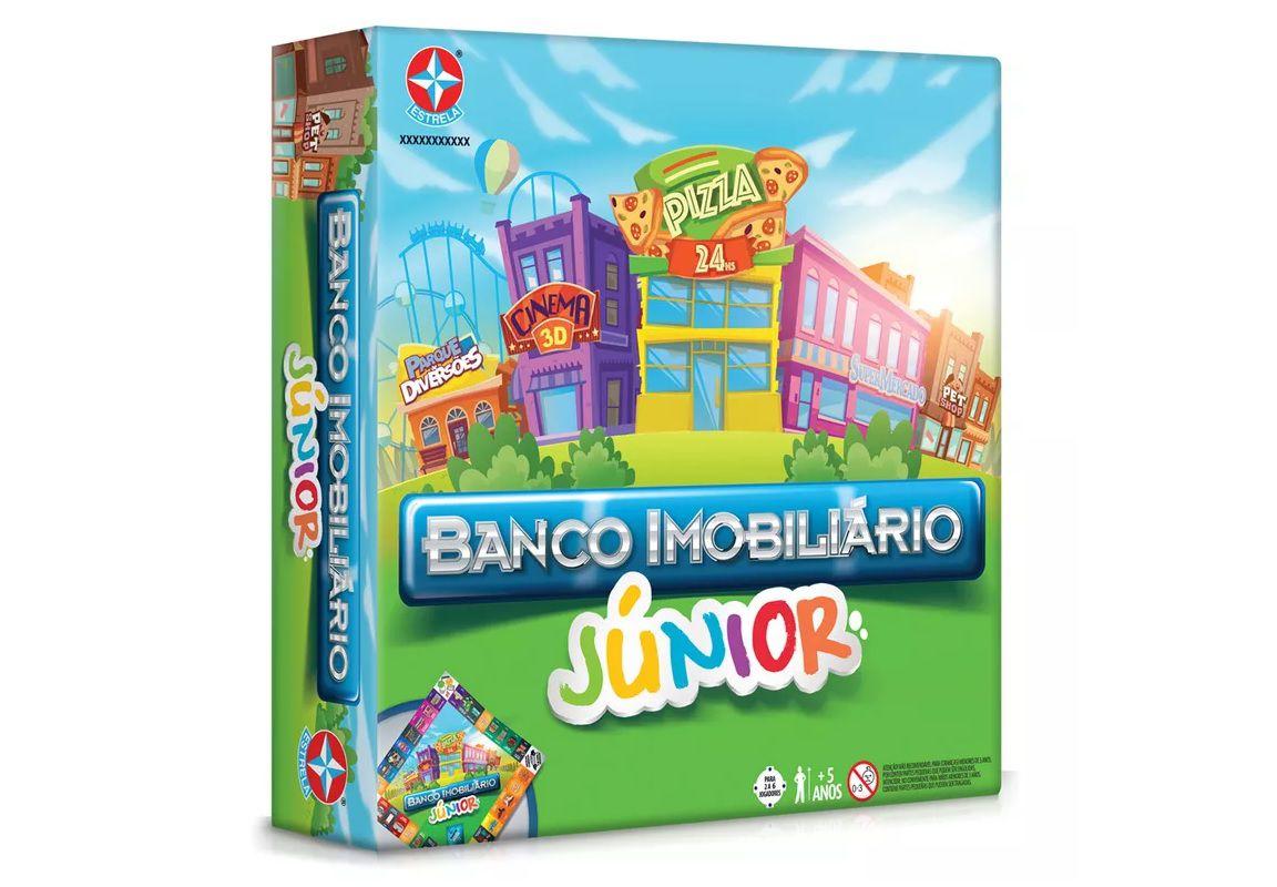 Jogo Banco Imobiliário Júnior  Estrela