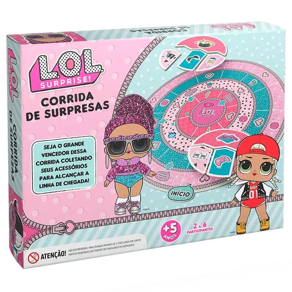 JOGO CORRIDA DE SURPRESAS LOL SURPRISE GROW