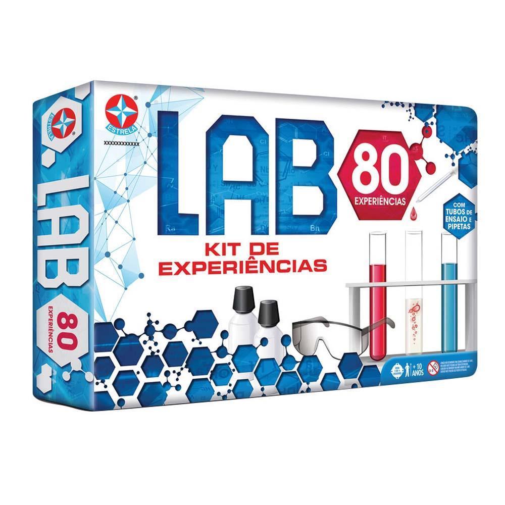 Jogo de Ciências Lab 80 Experiências Estrela