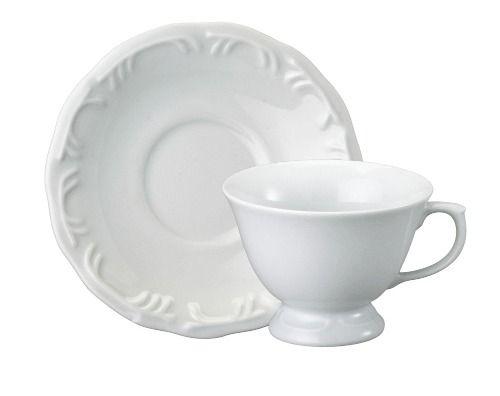 Jogo de Xícaras para Chá Porcelana 12 Peças - Schmidt Pomerode