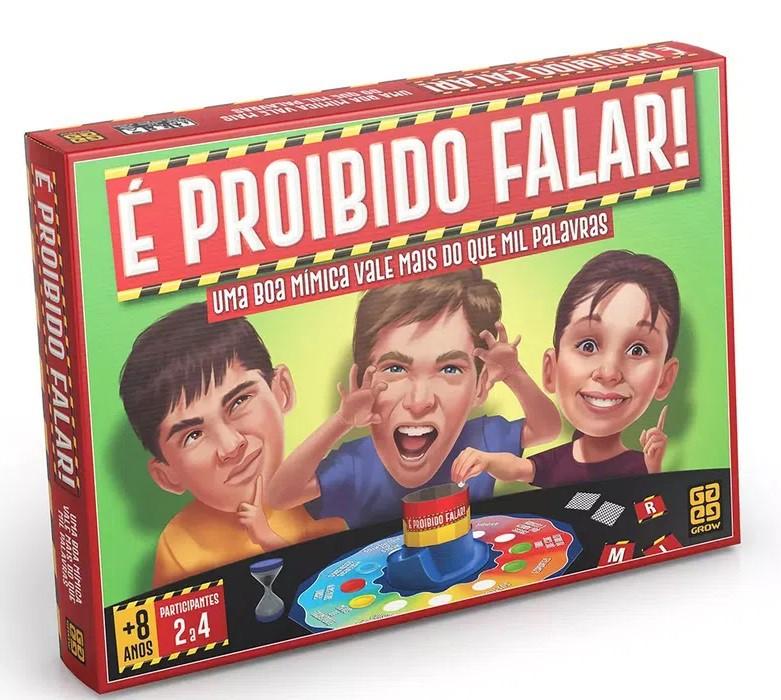 JOGO E PROIBIDO FALAR GROW