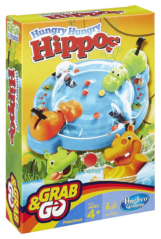Jogo Hipopótamo Comilão Grab & Go Hasbro