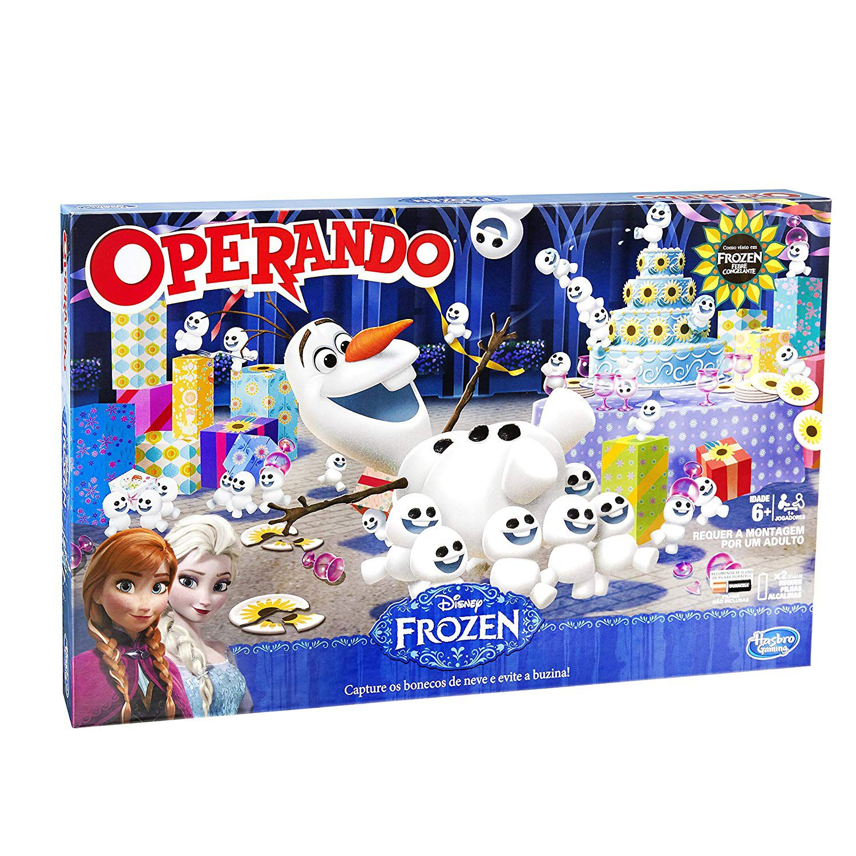 Jogo Operando Frozen Hasbro