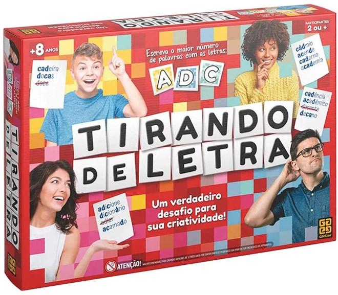 JOGO TIRANDO DE LETRA GROW