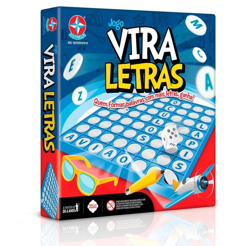 JOGO VIRA LETRAS ESTRELA