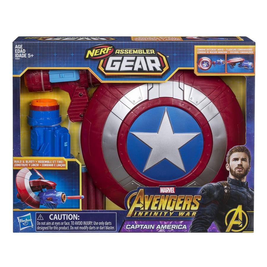 Lançador Avengers Marvel Capitão América Hasbro