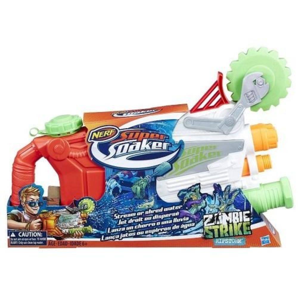 Lançador de Água Nerf Hasbro Super Soaker Zombie Strike - Ripstorm Hasbro