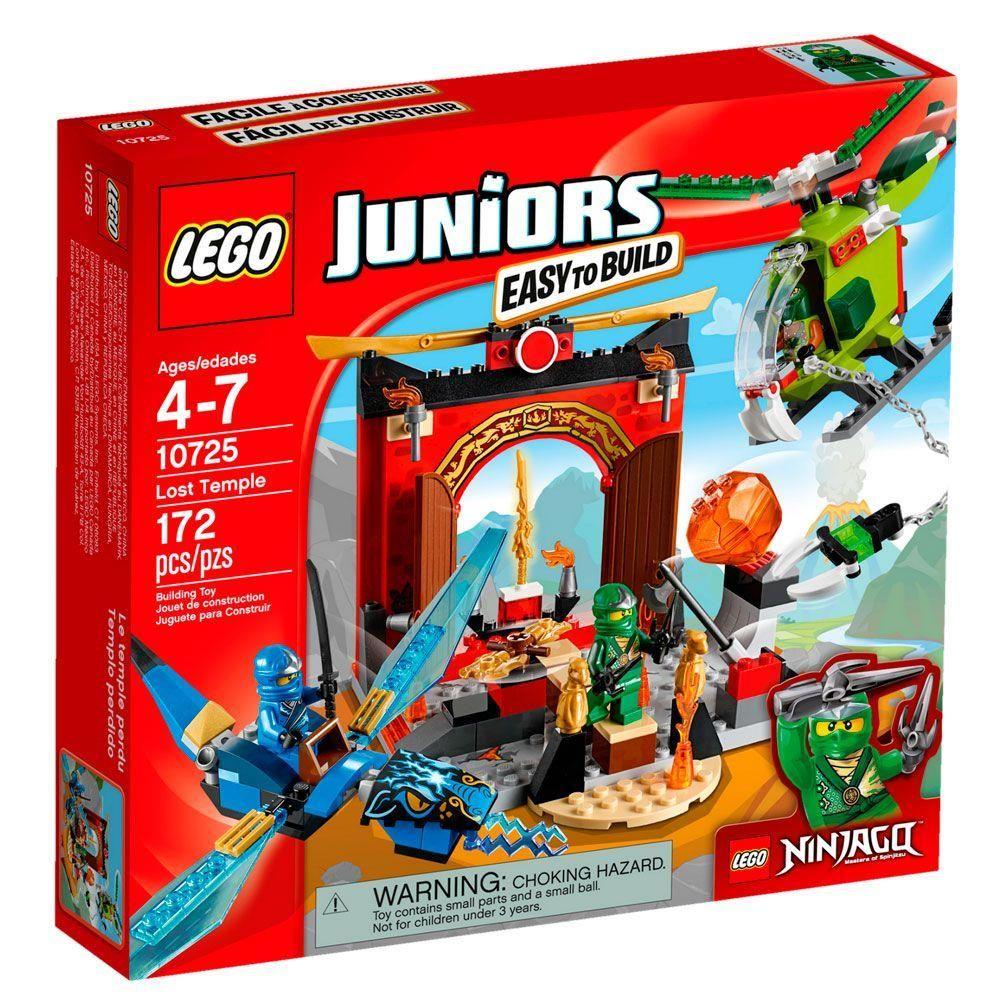Lego Juniors - Ninjago O Templo Perdido 10725