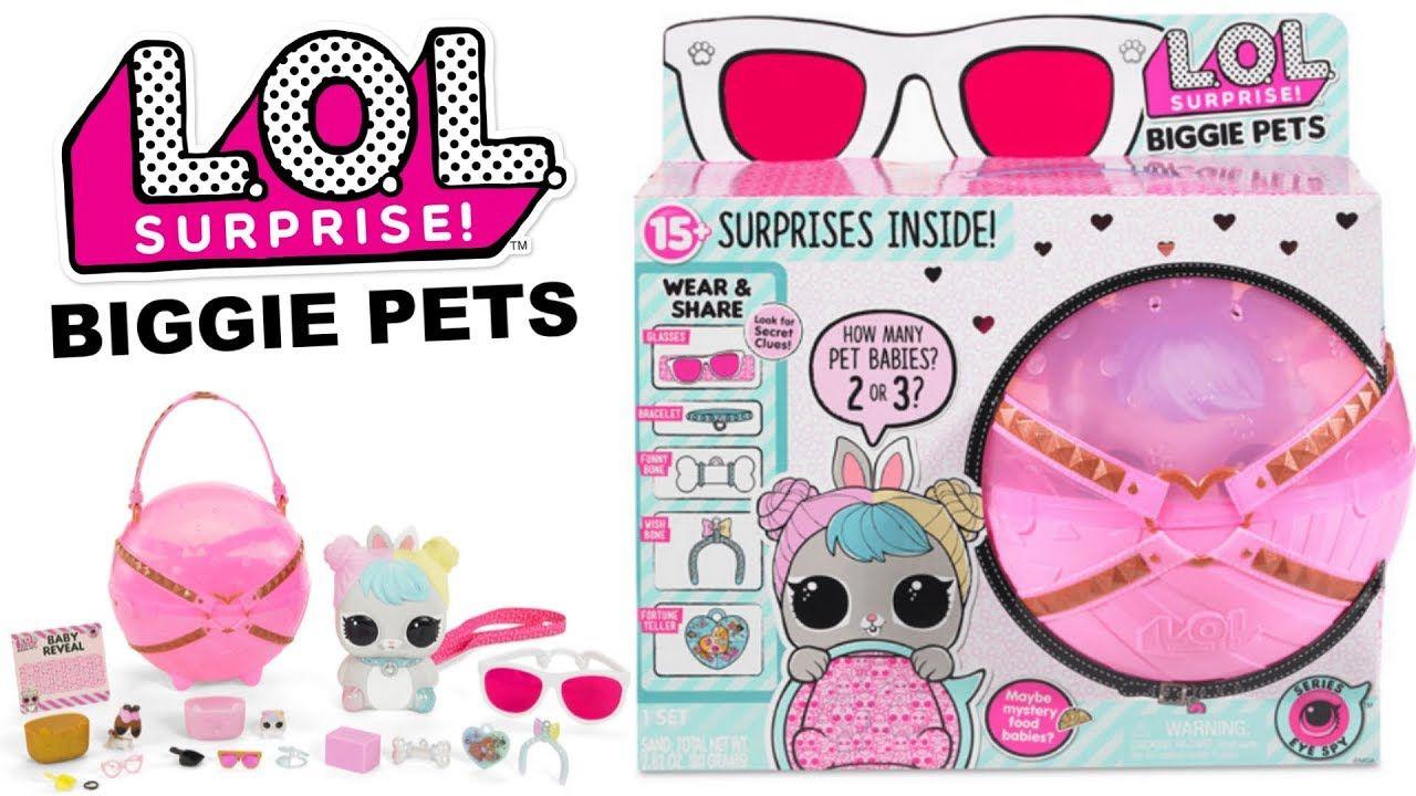 Lol Surprise Biggie Pet Lançamento