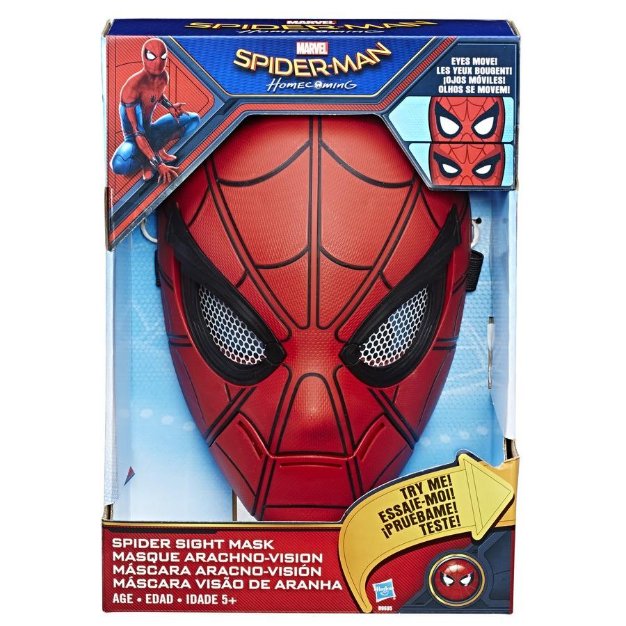 Máscara Visão de Aranha Spider-Man Marvel Hasbro
