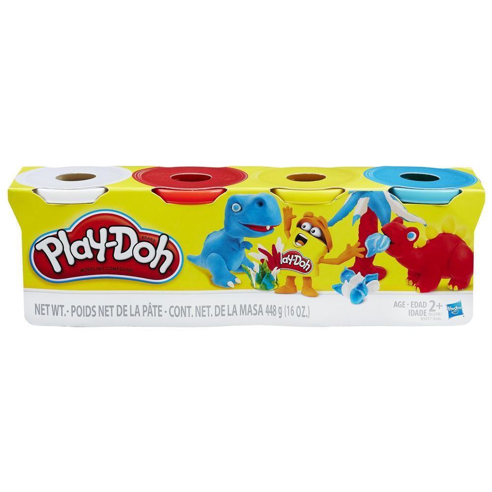 Massa Modelar Play-Doh com 4 sortido