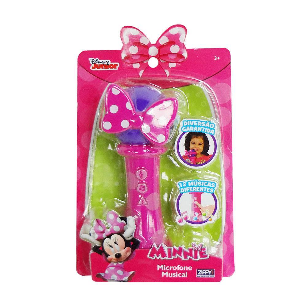 Microfone Disney Minnie Zippy Toys