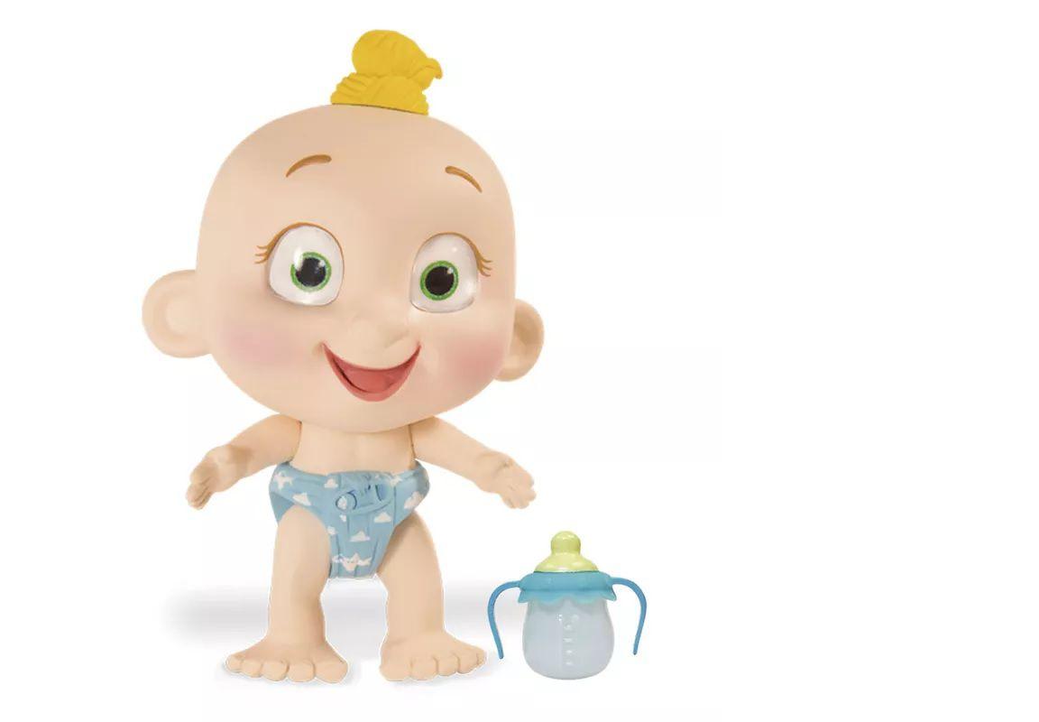 Mini Boneca Interativa Tiny Tots  Candide