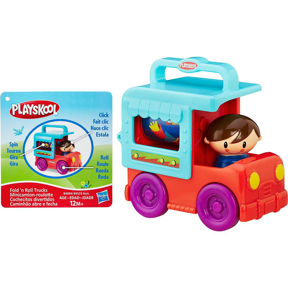 Mini Veículo Playskool Caminhão de Sorvete Hasbro