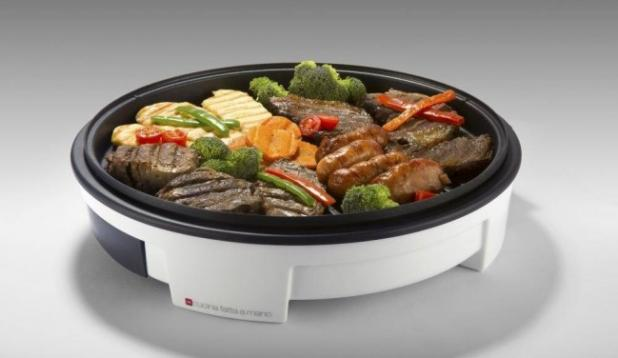 Multi grill Elétrico Antiaderente com tampa 1600w - Milano