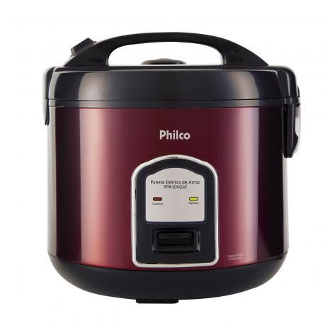Panela de Arroz PPA10 Inox Red 127 Volts - Philco