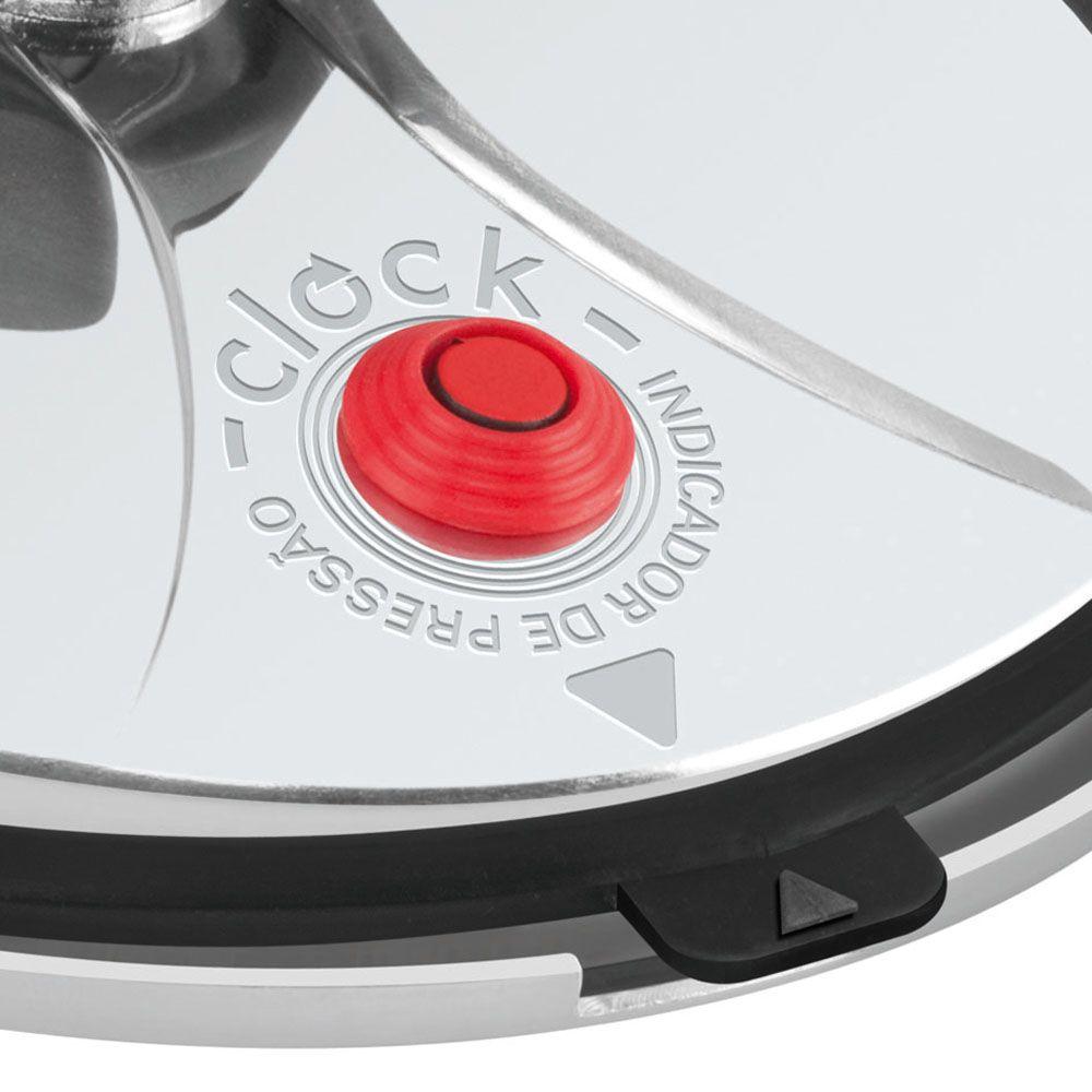 Panela de Pressão 4,5 Litros Original Inox Clock