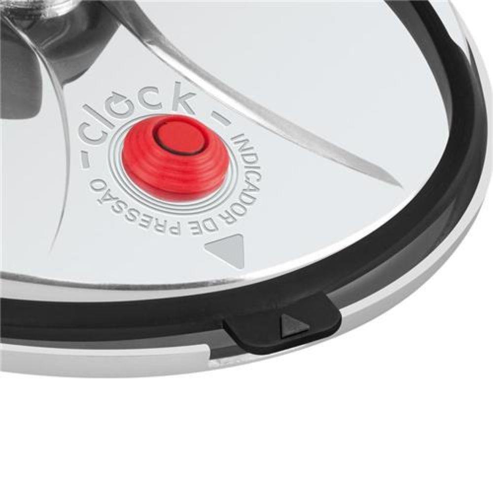 Panela de Pressão Polida 3 litros  Clock