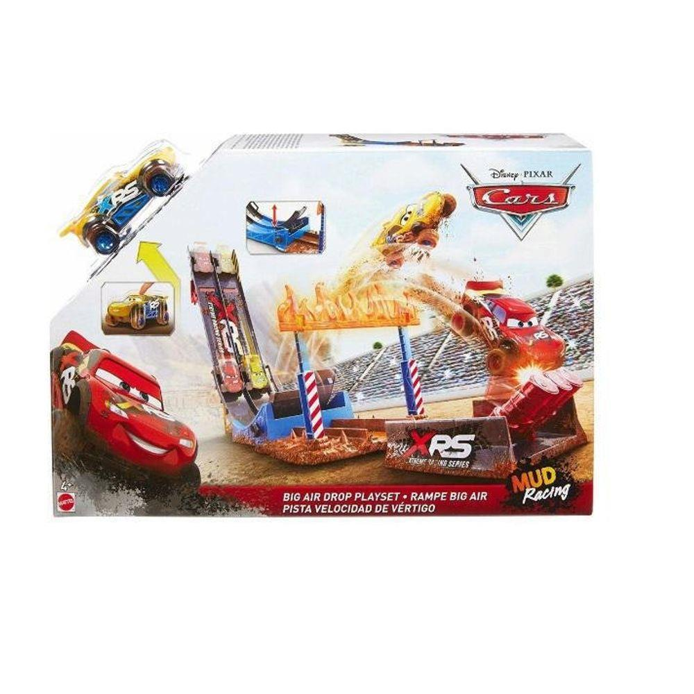 PISTA HOT WHEELS DISNEY CARROS ACROBACIAS MATTEL