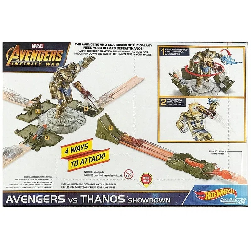 PISTA HOT WHEELS MARVEL PISTA THANOS