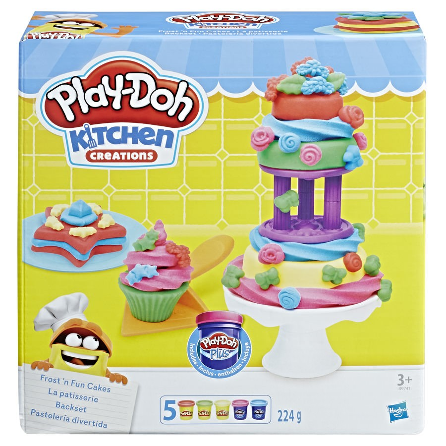 Play Doh Bolos Divertidos