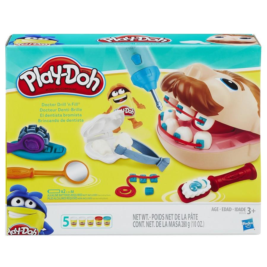 Play-Doh Brincando de Dentista Hasbro