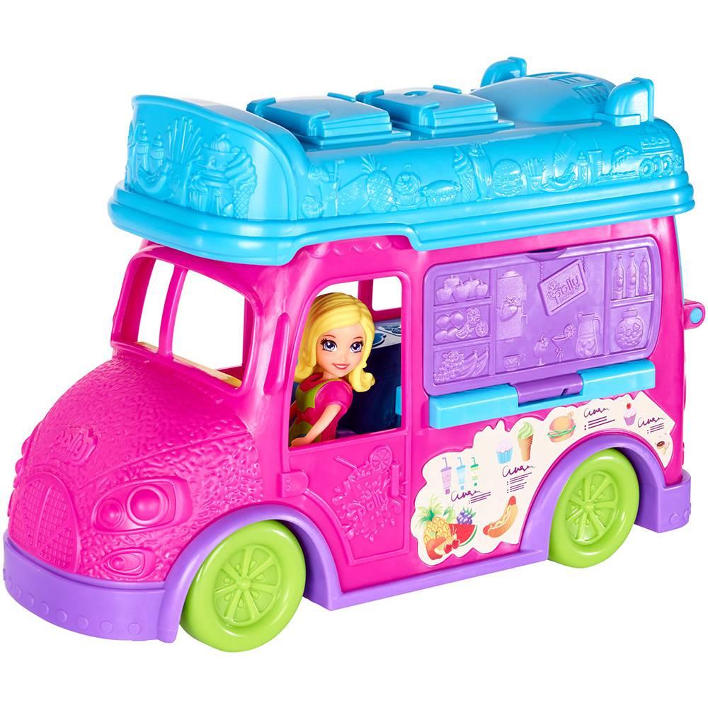 Polly Food Truck 2 em 1 - Mattel
