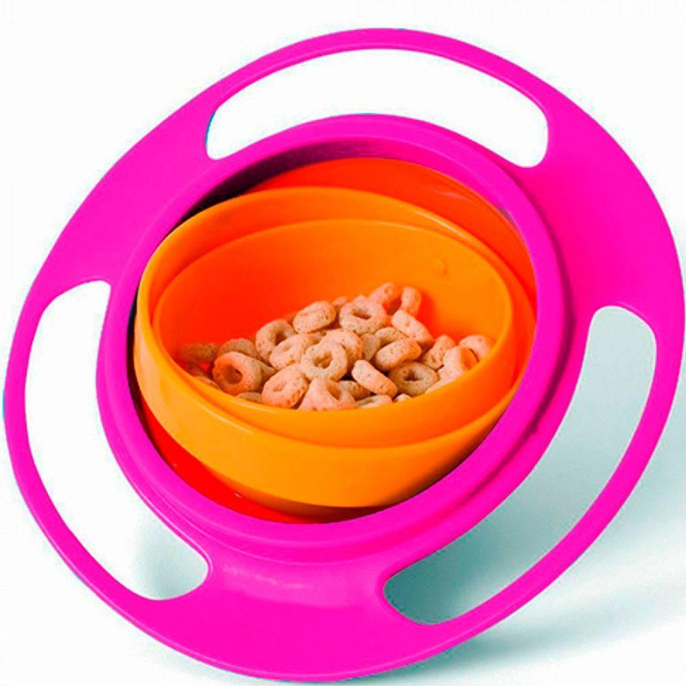 Prato Mágico Giro bowl 360º - Buba Toys
