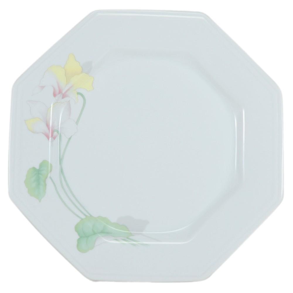 Prato Raso 28cm de Porcelana Prisma Encanto Schmidt