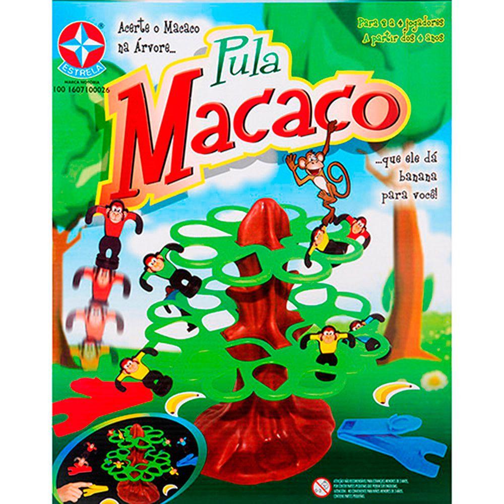 PULA MACACO ESTRELA