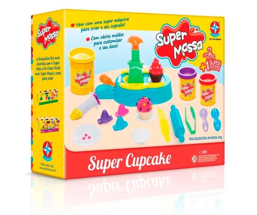 SUPER MASSA SUPER CUPCAKE ESTRELA