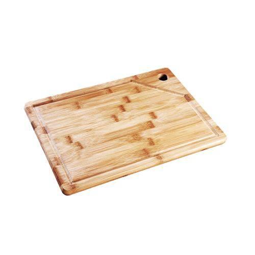 Tabua De Carne Churrasco Frios Petisco 35x25cm Bamboo MOR
