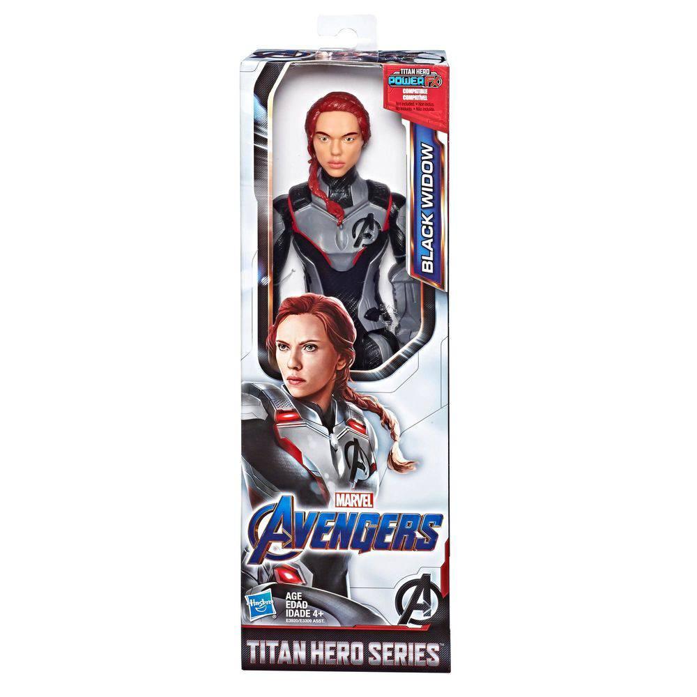 Viuva Negra Vingadores Ultimato Titan Hero Hasbro
