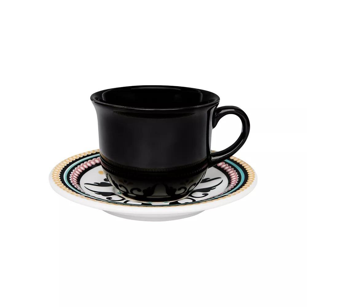 Xícara de Chá com Pires Luiza Oxford