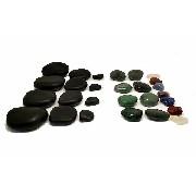 Kit de Pedras Quentes para Massagens Misto