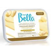Cera Depilatória Cremosa Chocolate Branco 800g Depil Bella