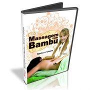 Dvd Massagem com Bambu