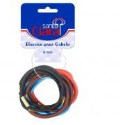 Elástico Colorido 4mm para Cabelo Santa Clara
